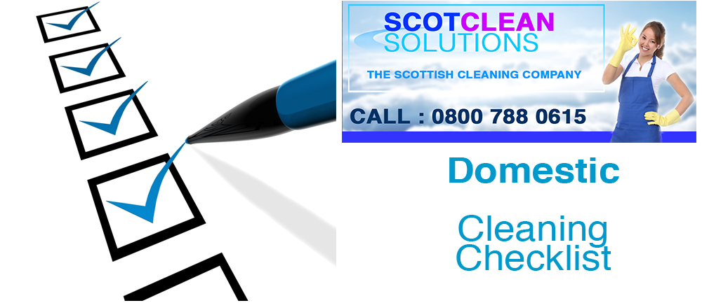Domestic-Cleaning-Glasgow-Checklist