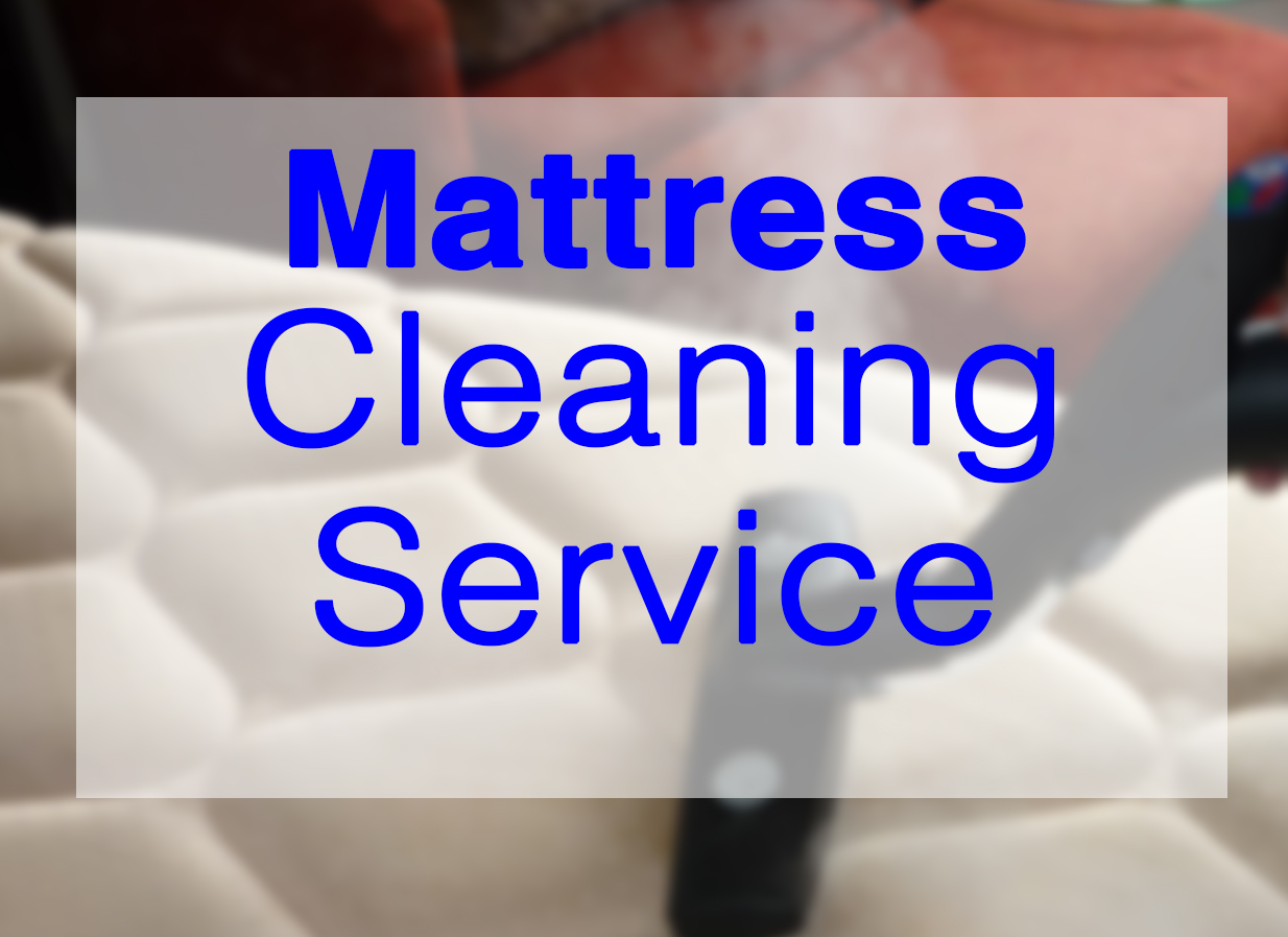 Matress-Cleaning steam cleaning service