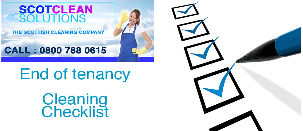 end-of-tenancy-cleaning-Glasgow-checklist